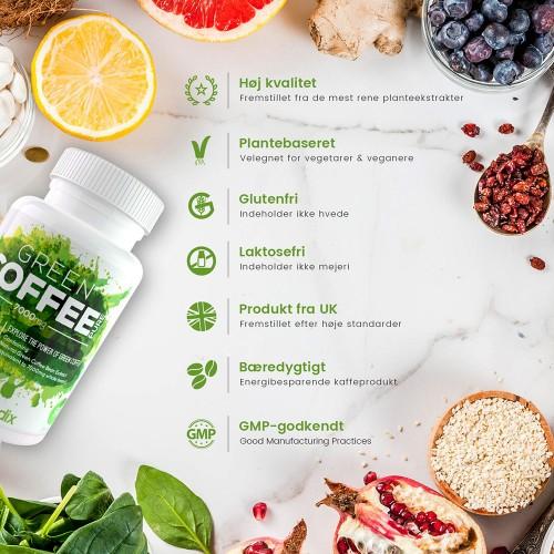 grøn kaffe ekstrakt