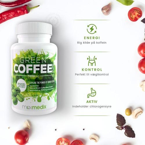 virker grøn kaffe ekstrakt